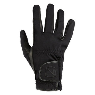 Noble Outfitters Gloves Mens Womens Winter Show Goatskin Black 50012