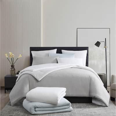 Vera Wang Waffle Pique Cotton Comforter Set
