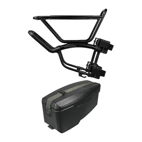Topeak TetraRack M1 with E-Xplorer TrunkBox