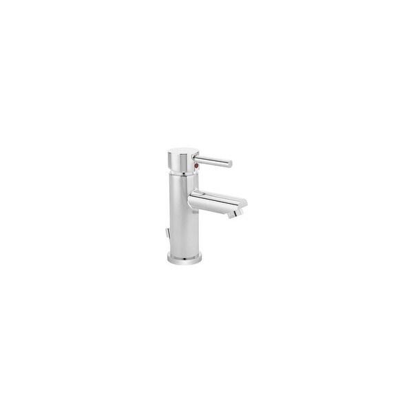 Symmons SLS-3512-DP4-1.5 Dia Single Hole Bathroom Faucet with Escutcheon - Chrome