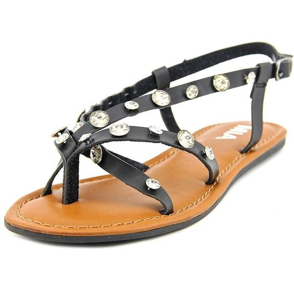 Mia Peace Women Open-Toe Synthetic Slingback Sandal