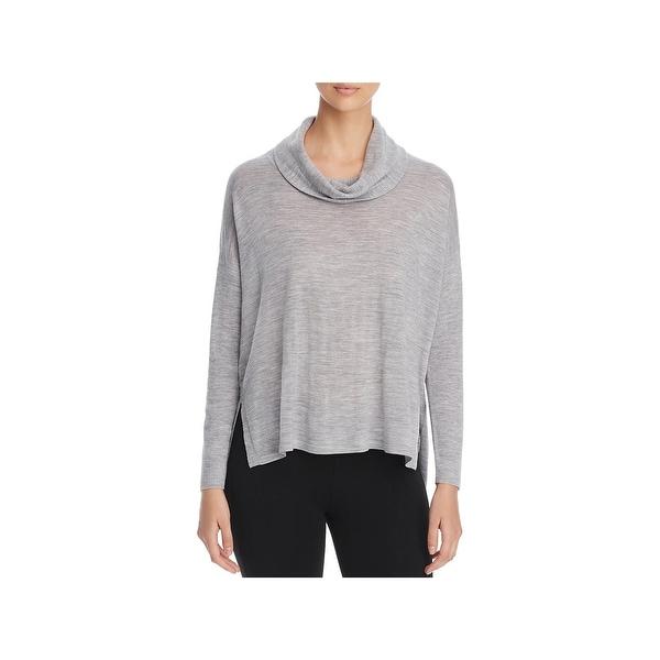 0b59b600625 Shop Eileen Fisher Womens Pullover Sweater Merino Wool Dolman Sleeve ...