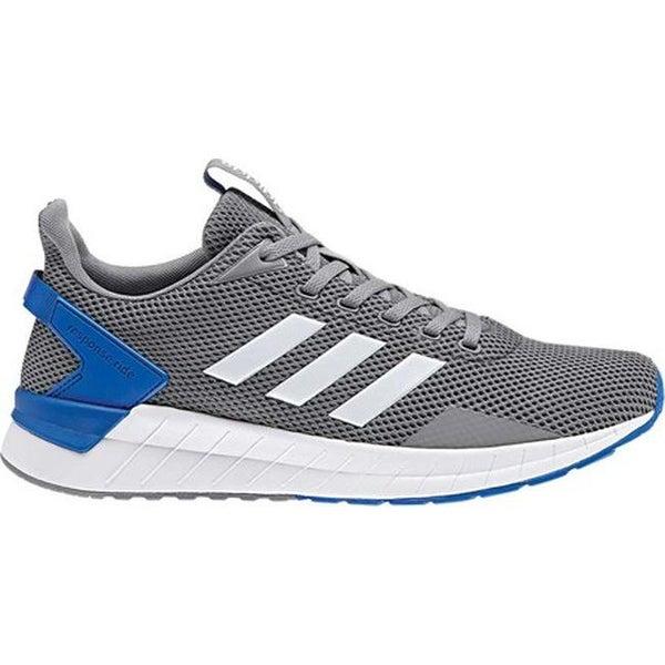 Shop adidas Men s Questar Ride Running Shoe Grey White Grey - Free Shipping  Today - Overstock.com - 25560125 27027e3d0
