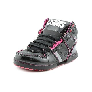 Osiris NYC 83 Slm Ult Youth Round Toe Patent Leather Black Skate Shoe