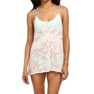 Lole NEW White Women's Size Medium M Cover-Up Sheer Swimwear