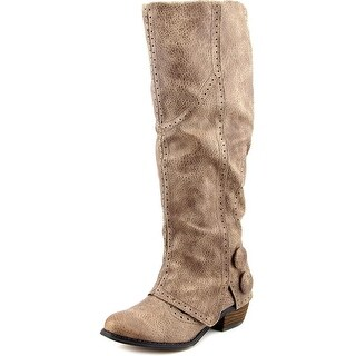 Not Rated Bailey Women Round Toe Synthetic Mid Calf Boot