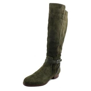 Via Spiga Prish Women Round Toe Suede Knee High Boot