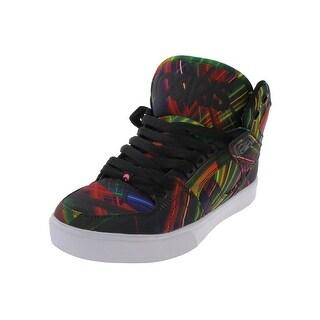 Osiris Mens Laser Lights Skate Shoes Printed Mid Top