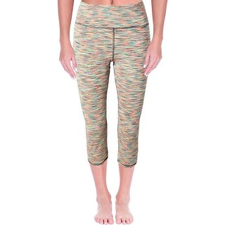RBX Womens Capri Pants Quick Dry Space Dye