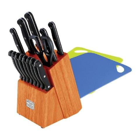 Chicago Cutlery 1122037 Essence Cutlery Set, 17-Piece