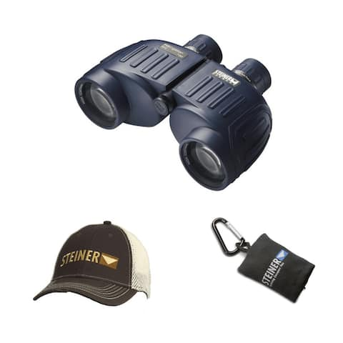 Steiner 7x50 Navigator Pro Binoculars with Cap and Lens Cloth Pouch