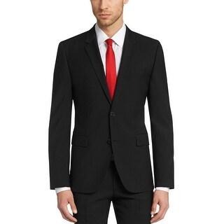 Hugo Boss Red Label Slim Fit AerinS Black Wool Sportcoat 40 Short 40S