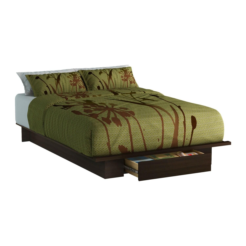 Queen Size Modern Platform Bed Frame