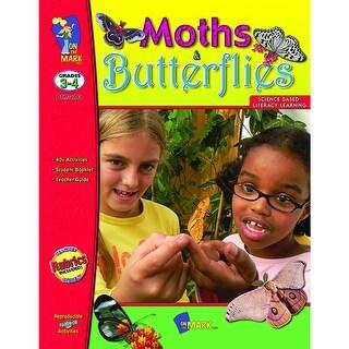 Moths And Butterflies Gr 3-4