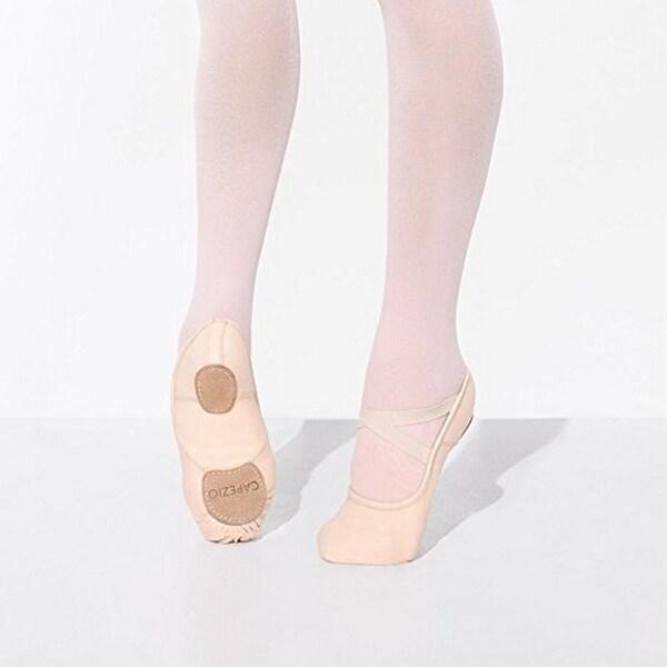 Capezio Womens Capezio Hanami Canvas Ballet Shoe, Lpk, 7.5W