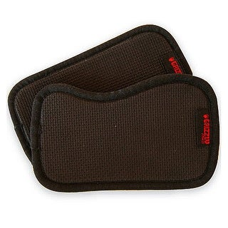 Grizzly Fitness Weight Lifting Grab Pads - Black