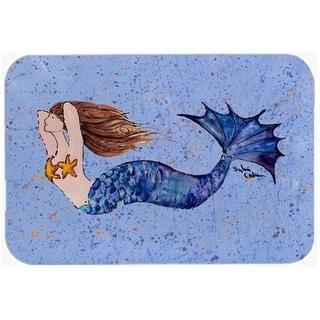 Carolines Treasures 8337-CMT Mermaid Kitchen Or Bath Mat - 20 x 30 in.