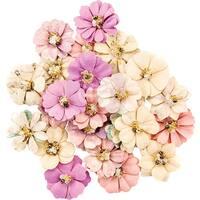Prima Marketing Moon Child Mulberry Paper Flowers 24/Pkg-Constellation