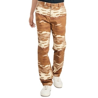 Link to Tommy Hilfiger Mens Jason Chino Pants Brown Size 38x32 Camo Straight Leg Similar Items in Big & Tall