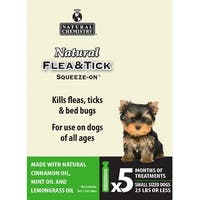 Natural Flea & Tick Squeeze On For Small Dogs