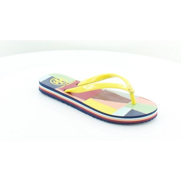 cf145a923710cf Tory Burch Classic Striped Edge Women  x27 s Sandals  amp  Flip Flops Multi