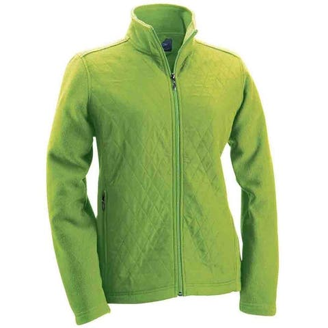 Page & Tuttle Womens Woven and Fleece Jacket Golf Athletic Outerwear Jacket
