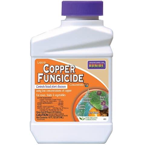 Bonide 811 Concentrate Liquid Copper Fungicide, 1 Pt