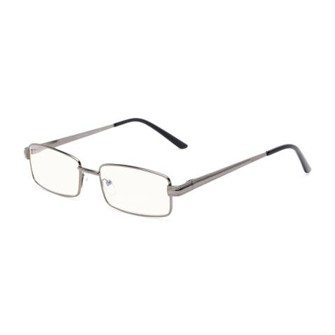 Readers.com The Dash Blue Light Reader Rectangle Reading Glasses