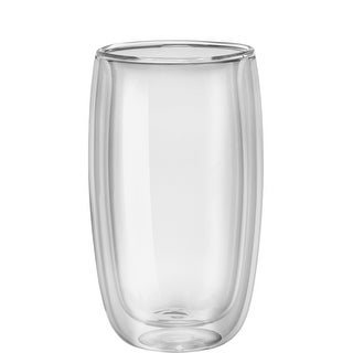 ZWILLING Sorrento 8-pc Double-Wall Glass Latte Cup Set - Clear