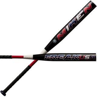 "Miken Freak USA Border Battle 14"" Supermax Slowpitch Softball Bat Black MBBFKA"