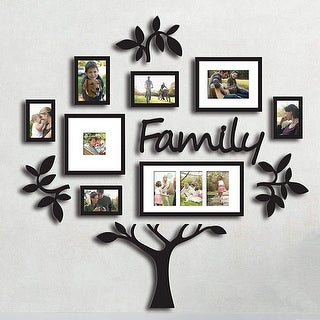 Hello Laura Family Tree Photo Frame Set College Frame