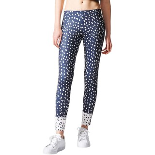 Adidas Womens Athletic Leggings Printed Yoga