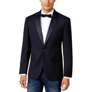 Ryan Seacrest Mens Two-Button Suit Jacket Tux Dinner - 44L