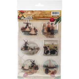 Find It Trading Amy Design Clear Stamp-Oud Hollands
