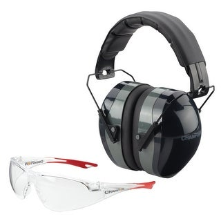 Champion Ballistic Passive Ears and Eyes Combo (Black)