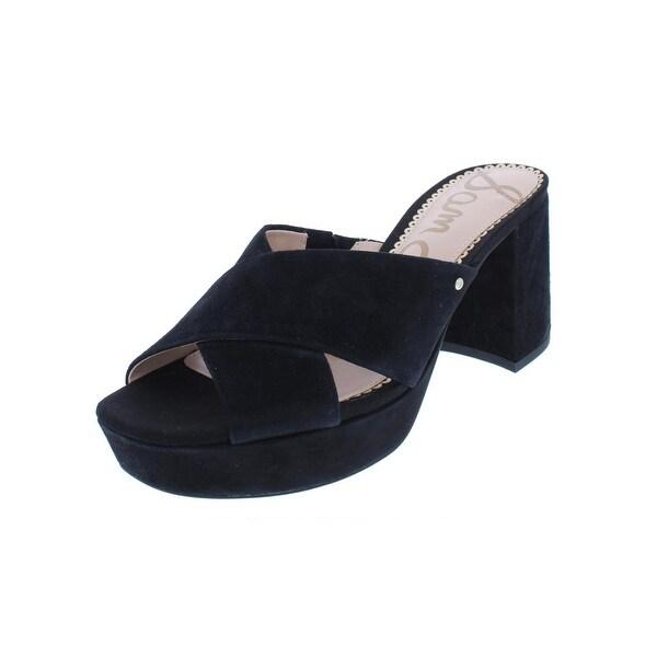 a6f783347e9611 Shop Sam Edelman Womens Jayne Dress Sandals Suede Criss-Cross - Free ...