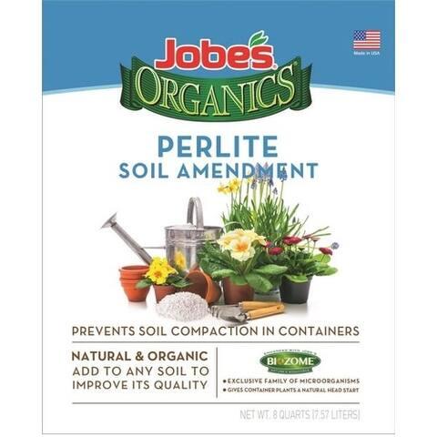 Easy Gardener 08878 Jobes Perlite Soil Amendment, 8 Quart