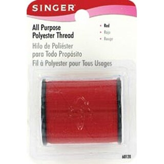 Red - All-Purpose Polyester Thread 150yd
