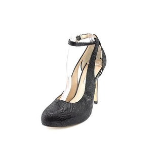 INC International Concepts Lucey W Open Toe Leather Platform Heel
