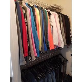 Black Wood Suit Hangers (Set Of 96)