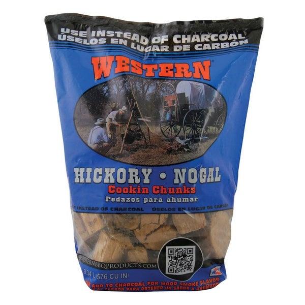 Western 78055 Hickory Cooking Chunks, 9.34 L