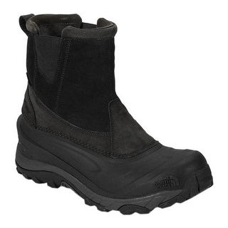 The North Face Men's Chilkat III Pull-On Snow Boot TNF Black/Beluga Grey