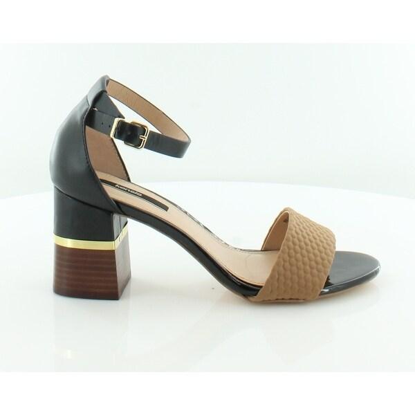 Kensie Estan Women's Sandals & Flip Flops Black - 9