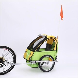 Sepnine BT-505-Green Single Seat Baby Trailer Only, Green