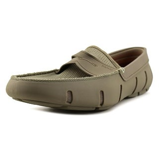 Swims Penny Loafer   Round Toe Synthetic  Loafer