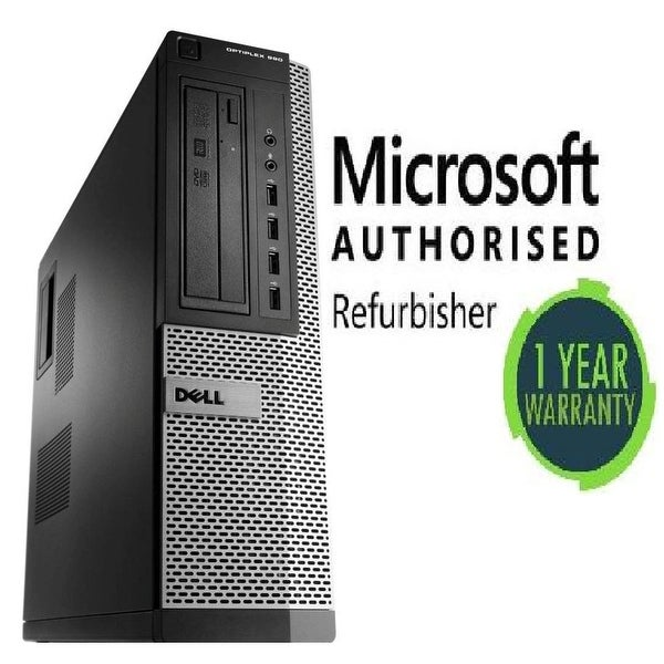 Dell GX990 TWR, intel Ci7 2600 3.4GHz, 16GB, 2TB, W10 Pro