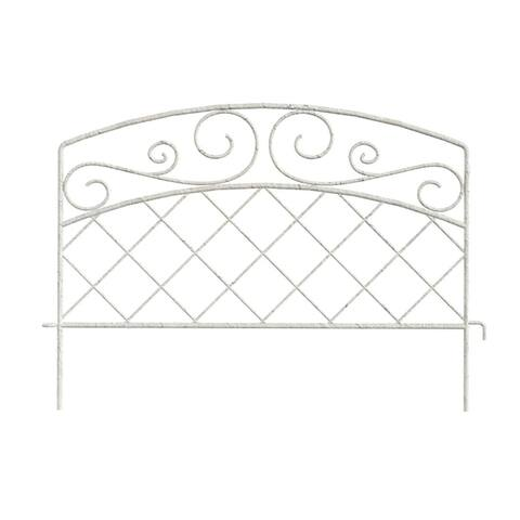 """Panacea 83620 French Country Border Edge Fence, 16"""""""