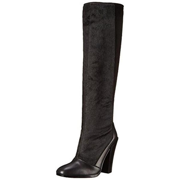 Derek Lam 10 Crosby Womens Carmen Calf Hair Suede Knee-High Boots