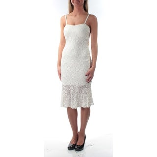 FRENCH CONNECTION $168 Womens New 1228 White Textured Dress 0 Juniors B+B