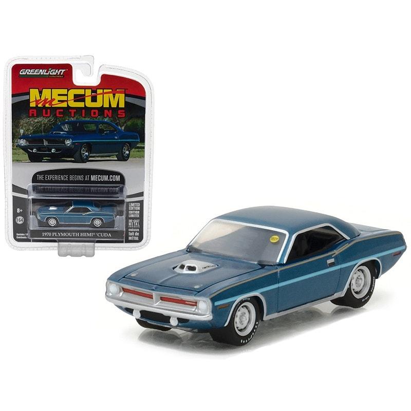 Greenlight 2017 Mecum Auctions 1970 Plymouth Hemi Cuda